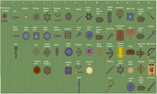 moomoo.io all items