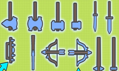 moomoo.io all weapons