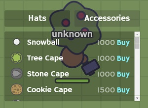 Photo of MooMoo.io Accessories List